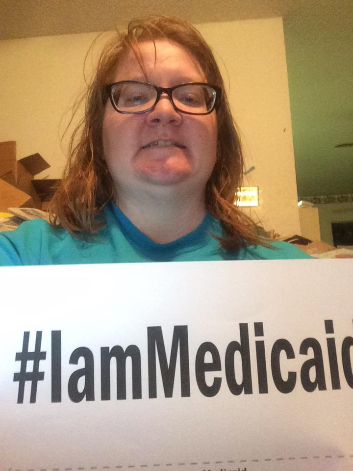I am autistic and have a life threatening immune deficiency and mast cell disease. Medicaid allows me the ability to afford my medicines beyond that which BCBS which I cannot afford without someone else helping. I am still awaiting services and approval for IVIG treatments. I live in Shelby County, AL. #IAmMedicaid