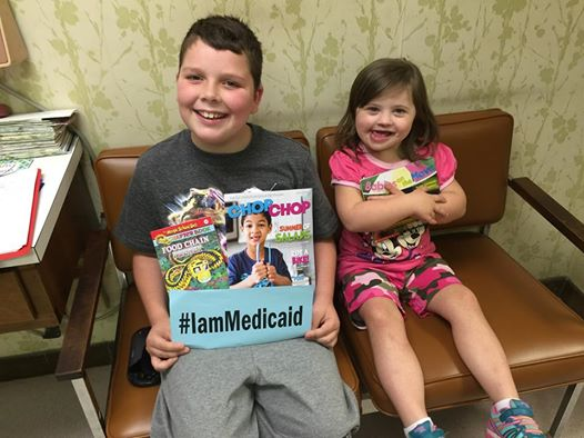 We live with our Grandparents. Medicaid is our Health Insurance. Please don't forget us! #IamMedicaid
