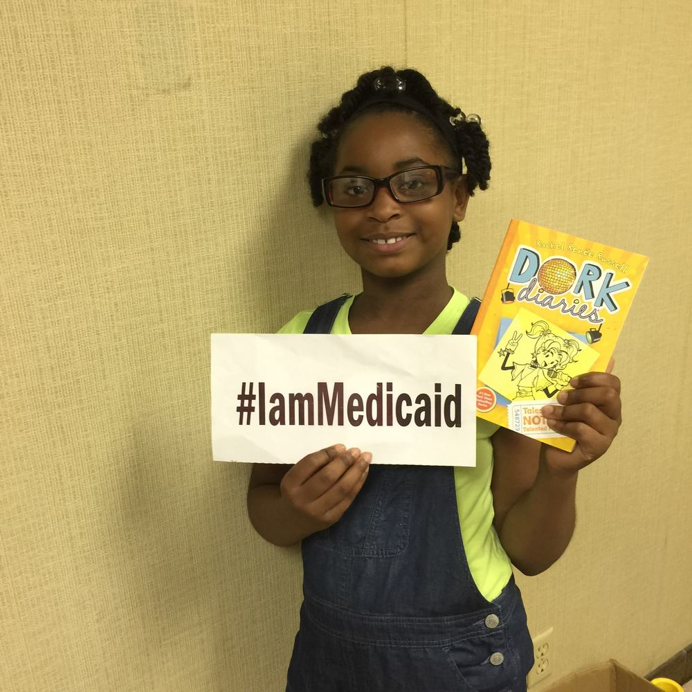 My asthma is controlled on an inhaled steroid and albuterol before PE. Thanks Medicaid! I love to read. ‪#‎IamMedicaid