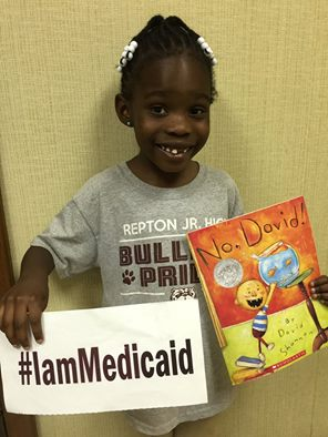 I just finished K-4. My mom has a new job and insurance. But Medicaid has kept me up-to-date with my shots. Thanks Medicaid! I love to read! #IamMedicaid