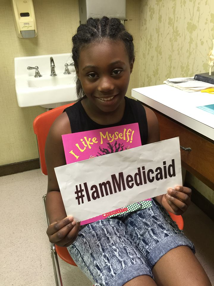 I have Dravet Syndrome causing hard to control seizures and problems at school. Thanks Medicaid and Children's Hospital for helping me! #IamMedicaid
