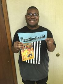 I had a severe head injury when I was a toddler. Thanks Blue Cross and Medicaid for my care. #IamMedicaid