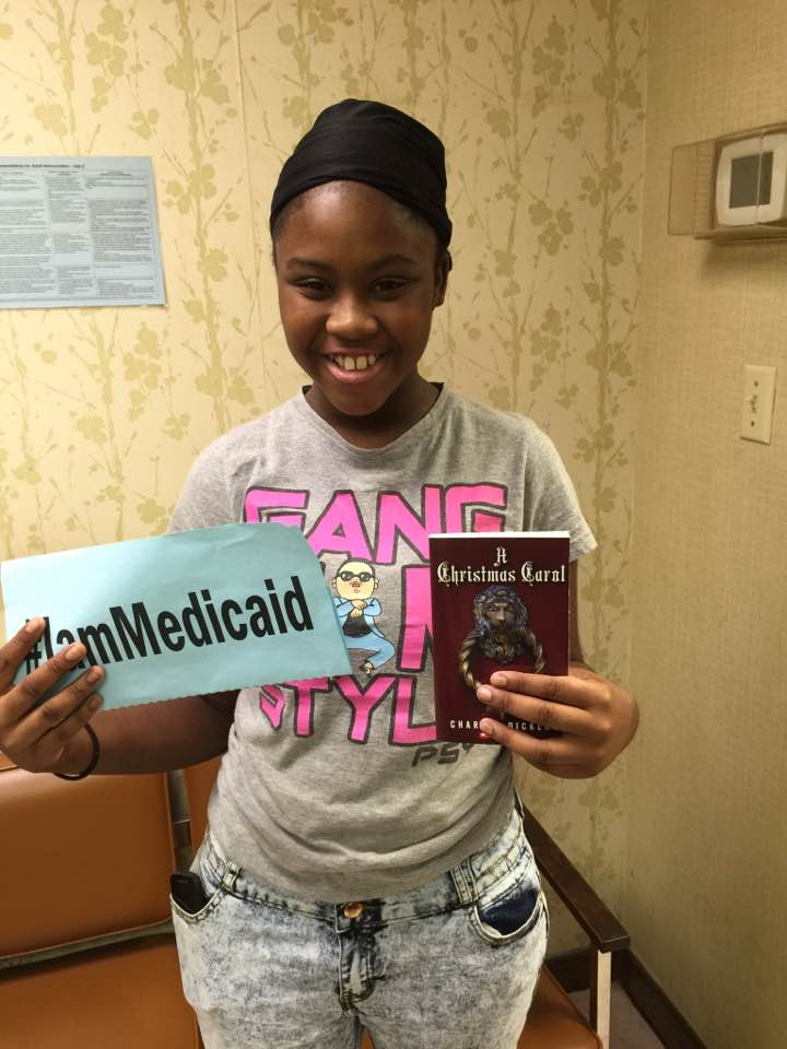 I have very itchy skin from eczema. Finally, I can sleep at night without scratching. Thanks, Alabama Medicaid for my medication! #IamMedicaid