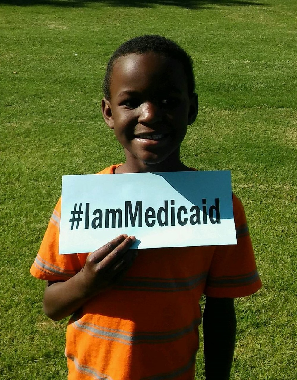 My brother and I depend on Medicaid to help keep us healthy. We can go to the doctor when we are sick. I am 6 and he is 4 and we are Medicaid. #IamMedicaid