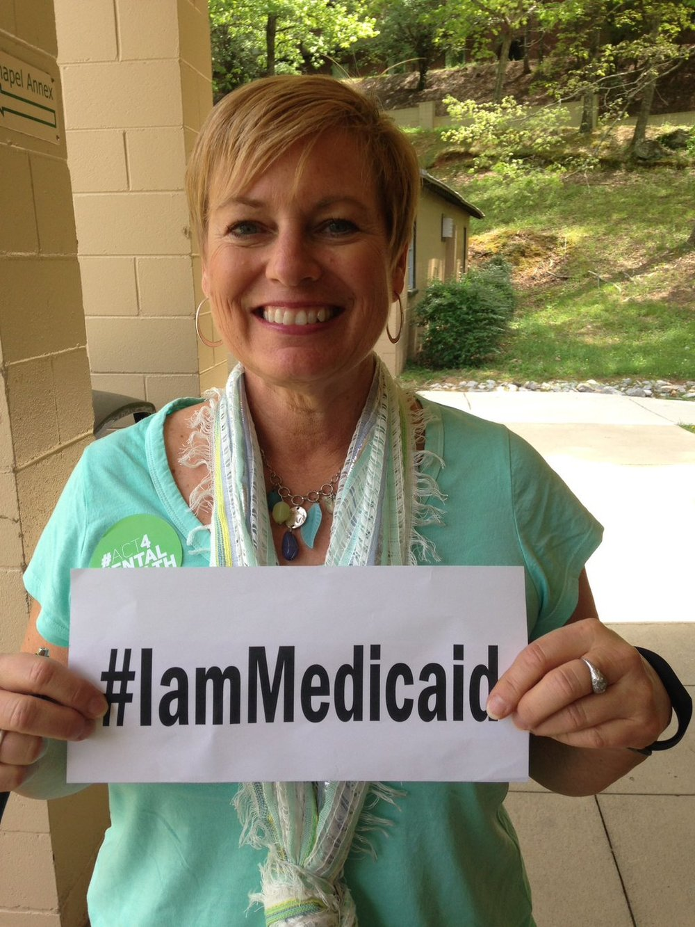 People depend on Medicaid for their very survival. Let your representatives know you support Medicaid! #IamMedicaid