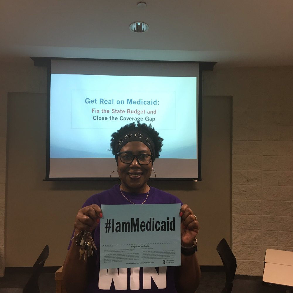 Annie was a nurse, raised 4 kids, helped so many people. She remembers when Medicaid was there for her #IamMedicaid