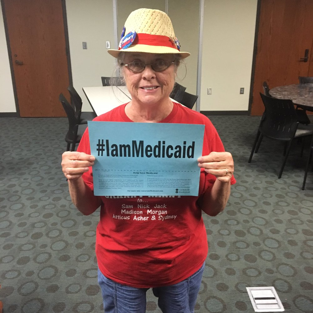 Nancy is raising her grandson who is thankfully covered by Medicaid #IamMedicaid