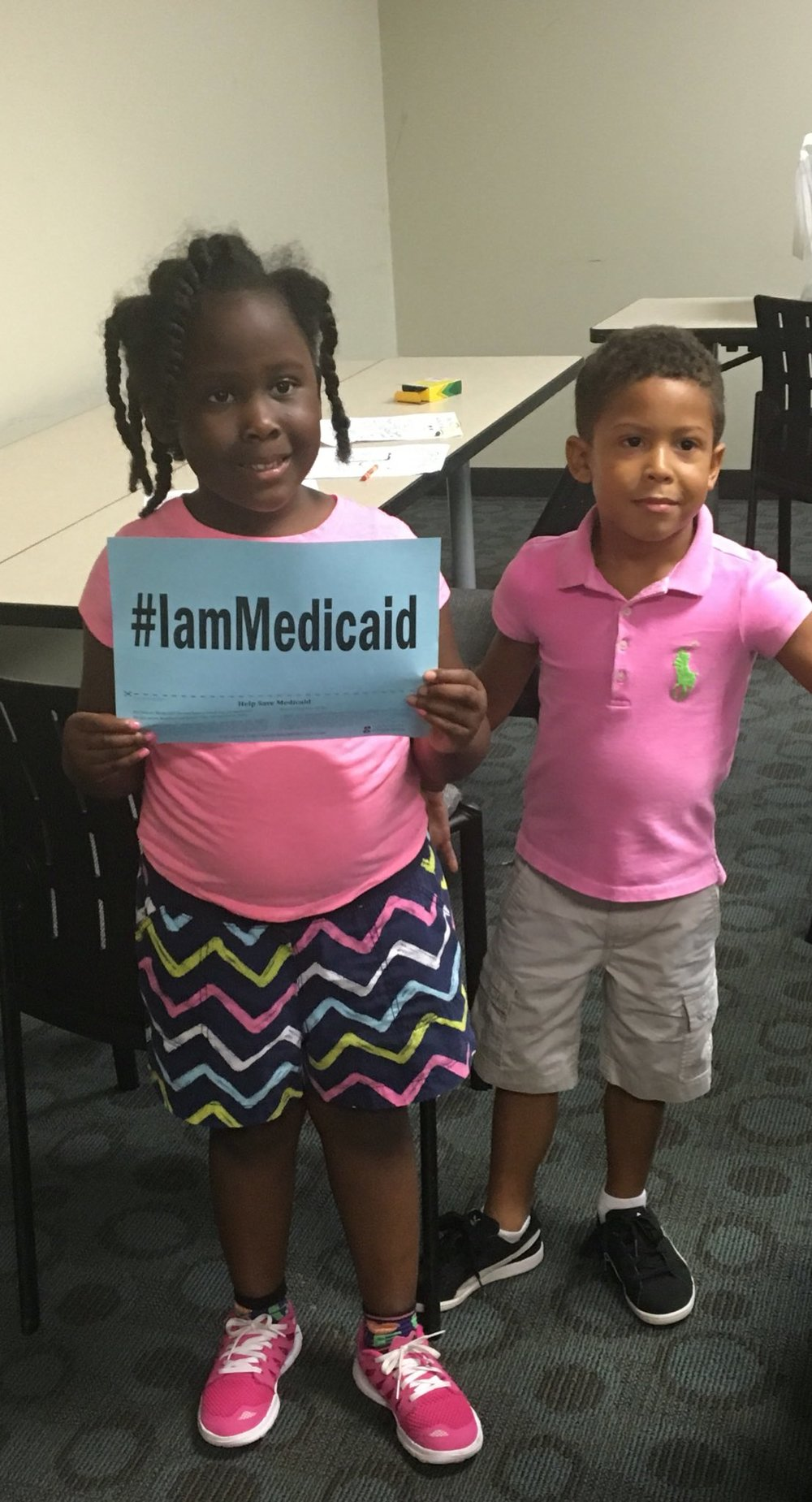 Most of the people covered by Medicaid are children. I am proud of AL's commitment to cover all kids. #IamMedicaid