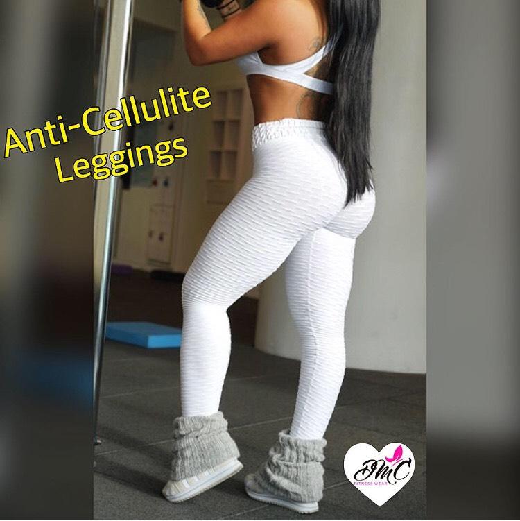 5d76f237ba1cc New ANTI-CELLULITE Leggings White — DMC FITNESS WEAR