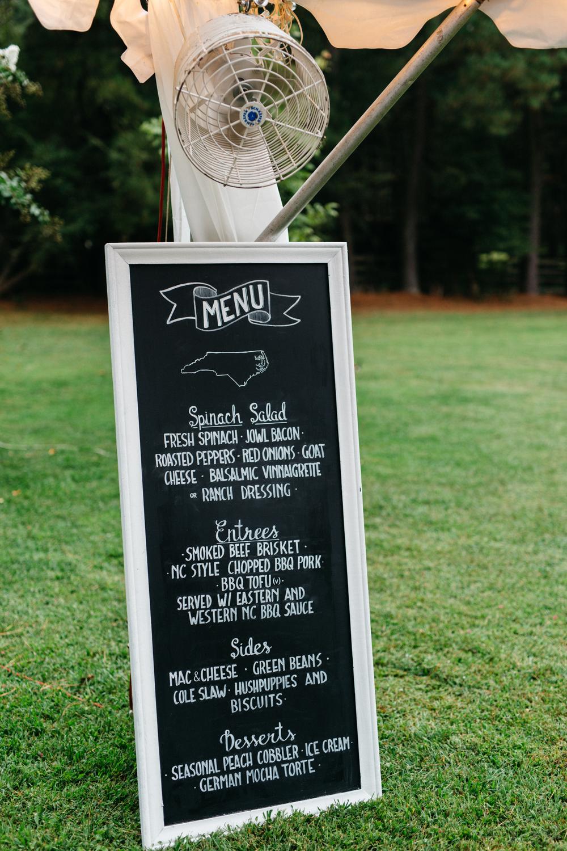 shawna u0026 steven backyard wedding raleigh nc u2014 ab chalk designs