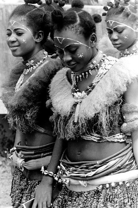 Ibibio women; Southern Nigeria   Image: Unknown.