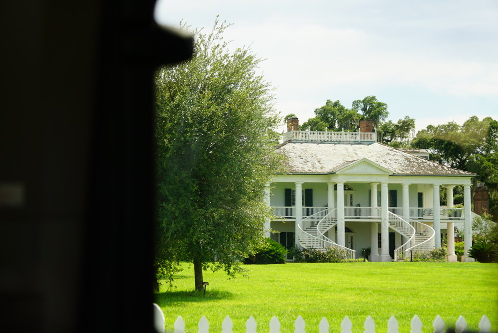 We drove past EverGreen plantation where Django Unchained was filmed. I was able to capture this in a moving vehicle hahaha I'm proud of myself because this is a first.  We also drove past the Plantation where Queen sugar was being filmed but didn't get any shot