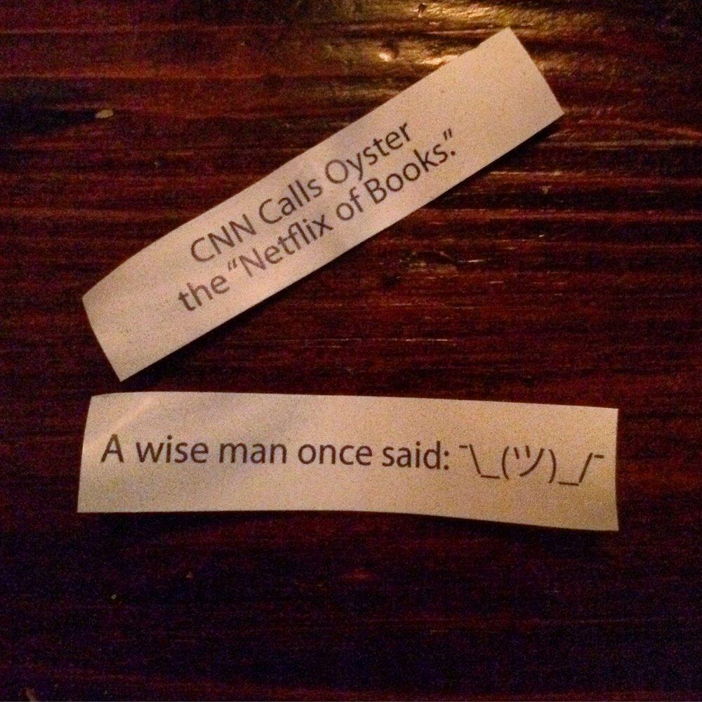 Custom Fortune Cookie Fortunes