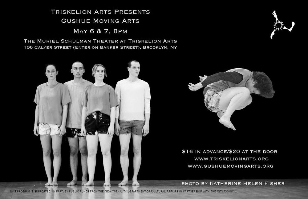 Triskelion Arts presents Gushue Moving Arts May 6th and 7th 8:00PM BUY TICKETS HERE!    I will be performing in Charles Gushue's newest work:  The Augur and The Amateurs  on May 6th and 7th, 2016   https://www.facebook.com/events/1529309574040575/