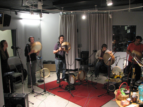 Glen Velez Ensemble @WNYC