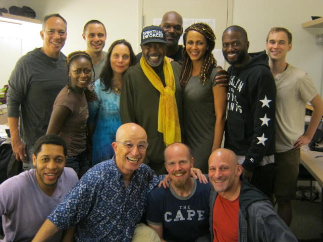 Cast of Antony & Cleopatra with Ben Vereen