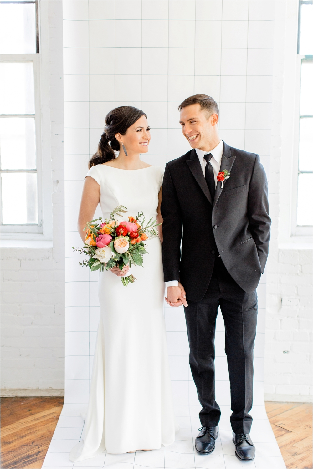 Grand Rapids, MI Minimalist Modern Wedding Inspiration