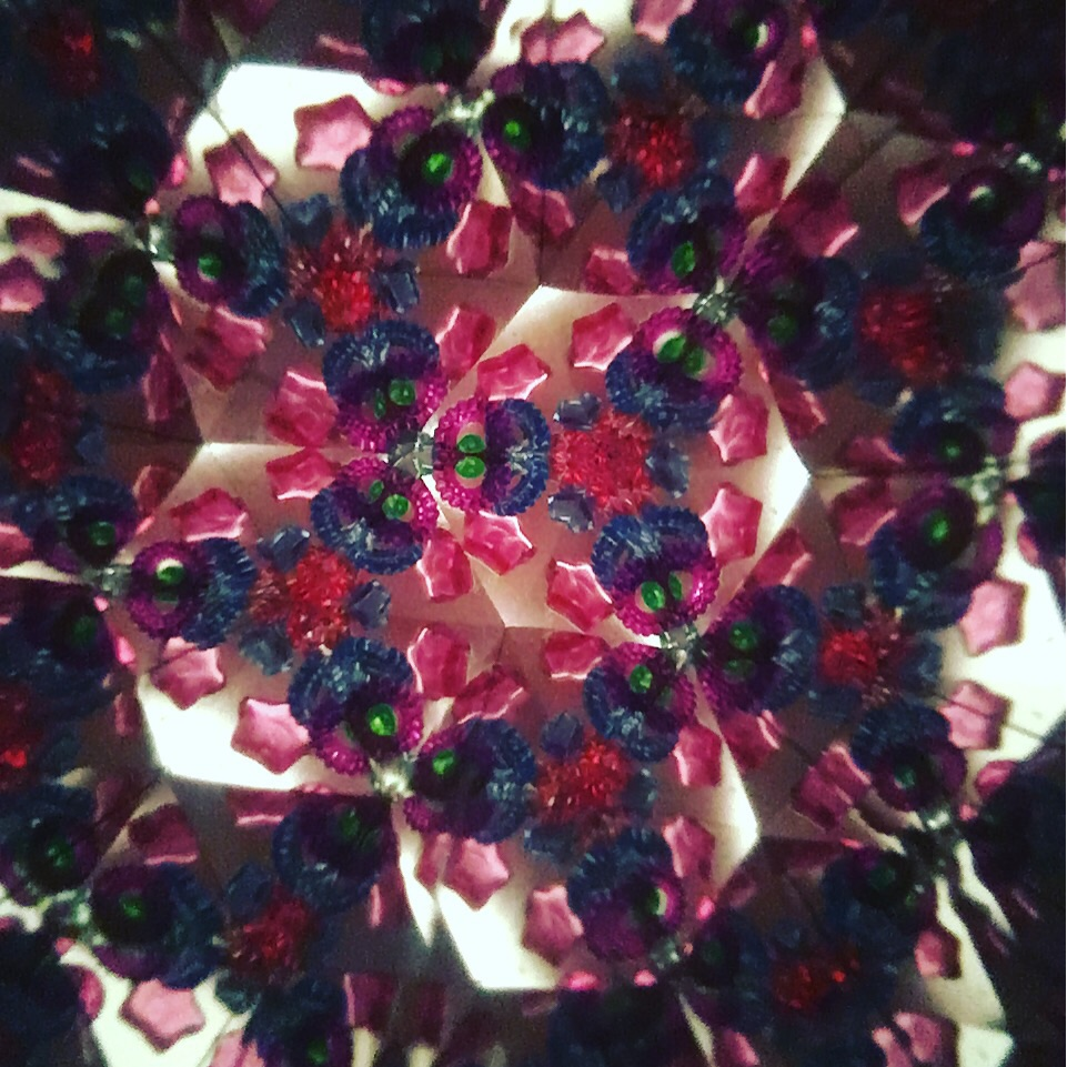 iPhone photo through a kaleidoscope