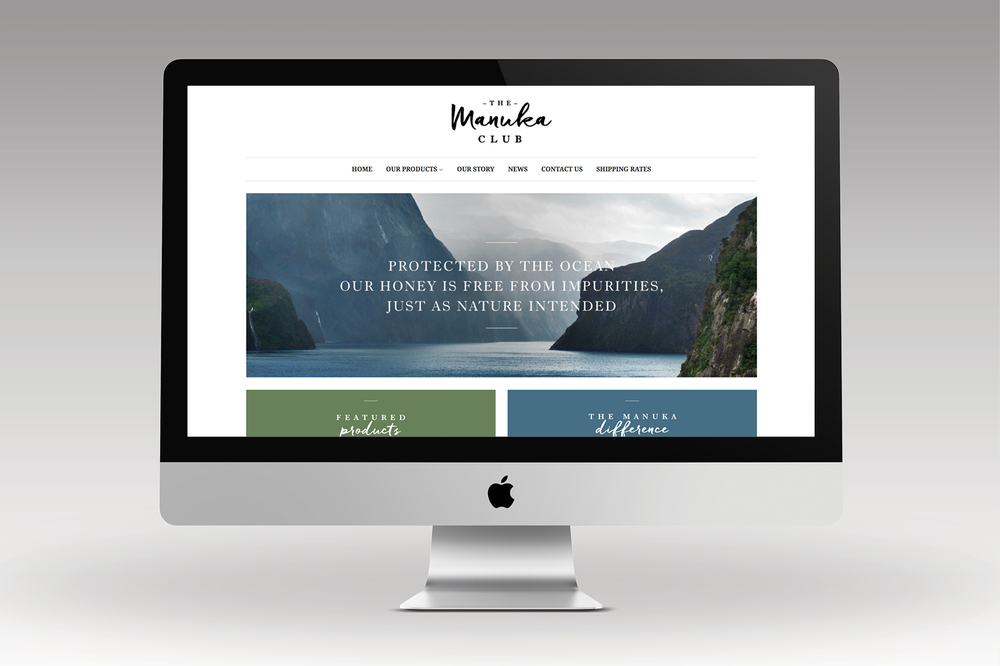 The Manuka Club website