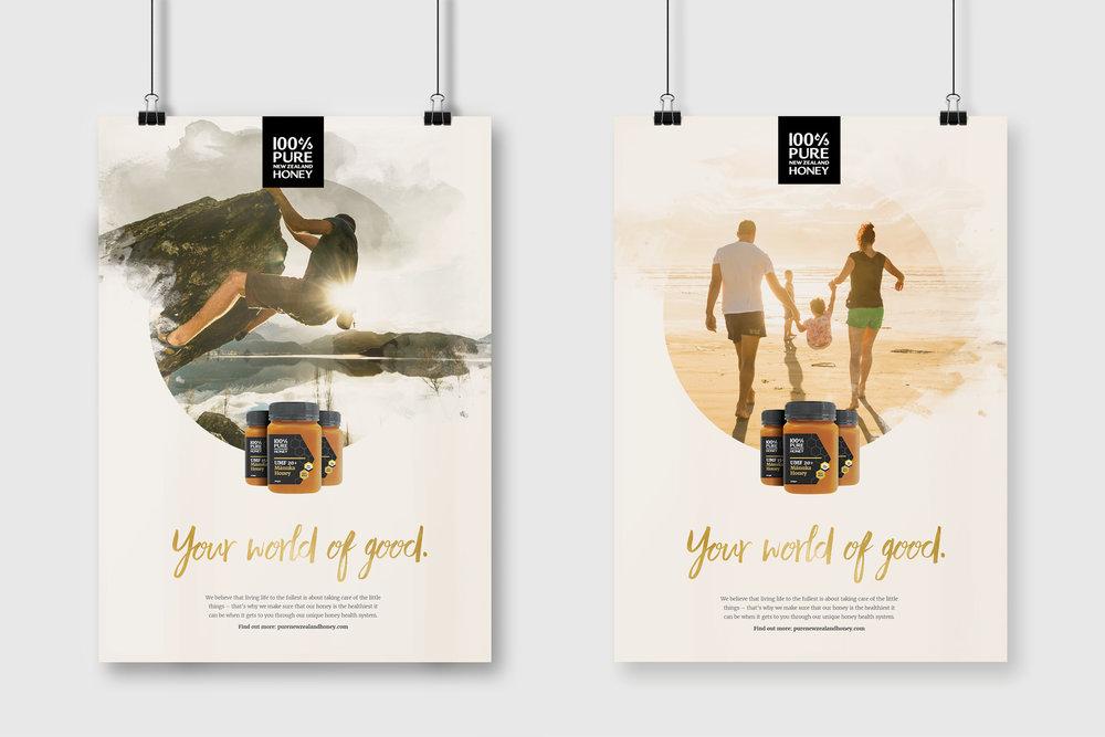 Honey Posters