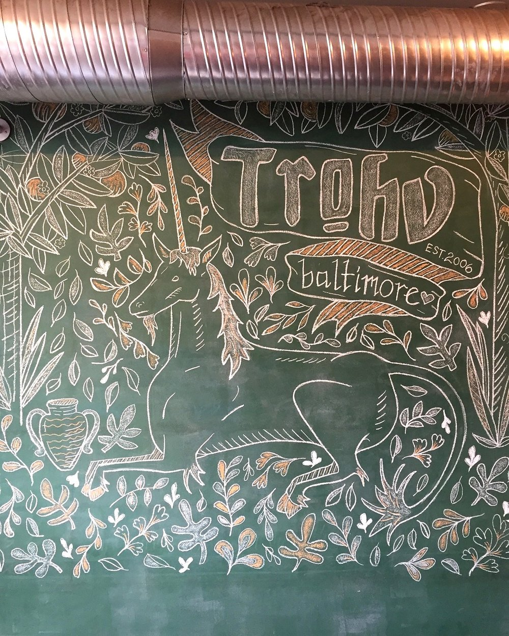 Trohv Chalk Wall