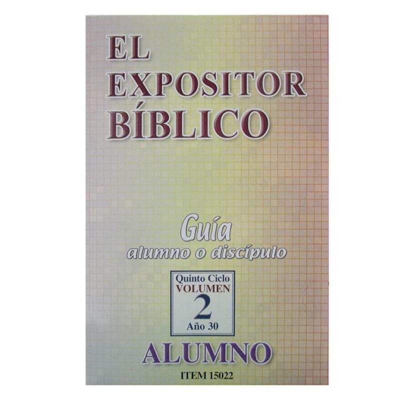 El Expositor Bíblico  Facilitadora: Cuerpo de Ancianos  Dia: Domingo @ 9:30 AM  Lugar : ICPO