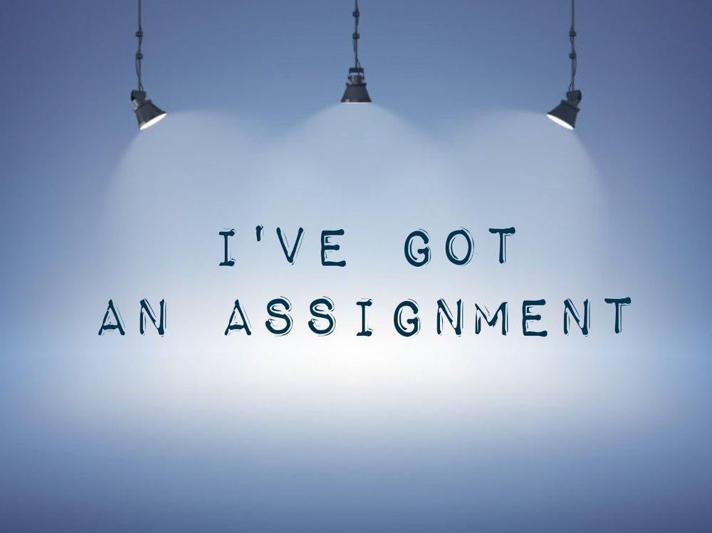 I've got an assignment 10.28.18.jpg