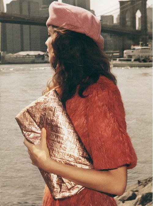 Daria Werbowy by Inez and Vinoodh, Vogue US, September 2007