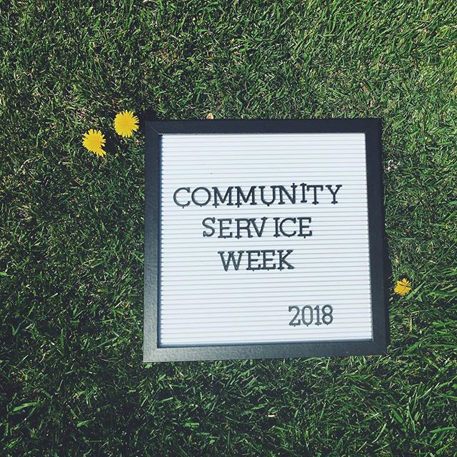 Looking for some more service hours? Join us for our first ever SFL Community Service Week running from Monday April 23rd through Friday April 27th. Each day has a variety of activities to help you meet your hours & help out our community! Check out the link in bio for more info & sign-ups!