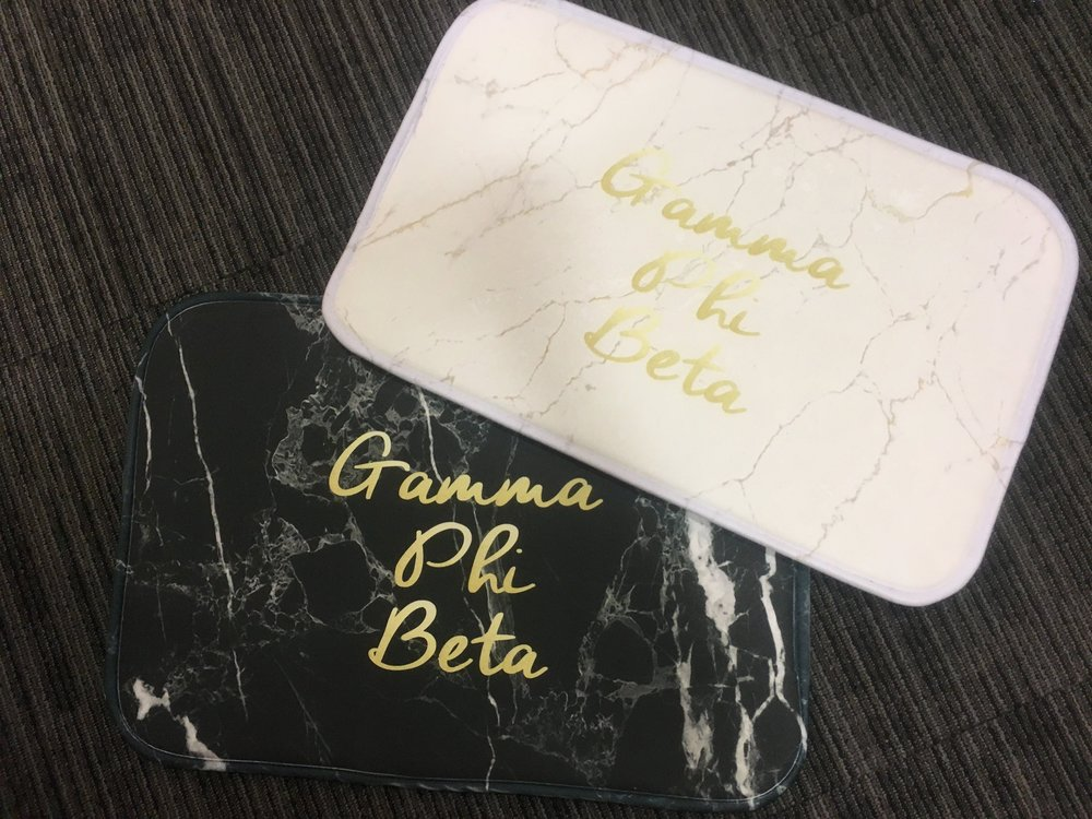 Marble Mats - White marble: $24.99Dark marble: $24.99