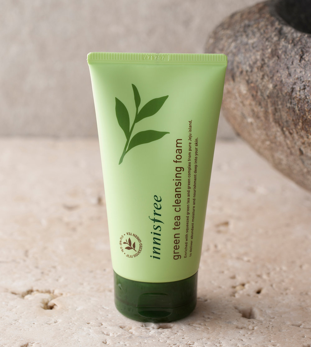 1. Innisfree's Green Tea Cleansing Foam - I start with washing my face once a day (at night) to remove all the oil and dirt (especially from the pollution here in Jakarta). I don't feel like I need to wash it in the morning because I have just a good amount of oil on my skin to prevent it from being too dry. This facial foam is very smooth and subtle on my skin so it doesn't leave your skin too dry.