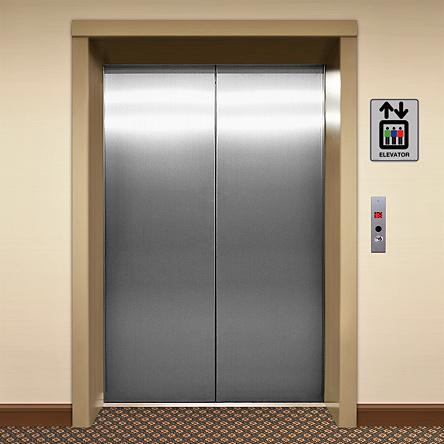 It's an elevator. Get it?
