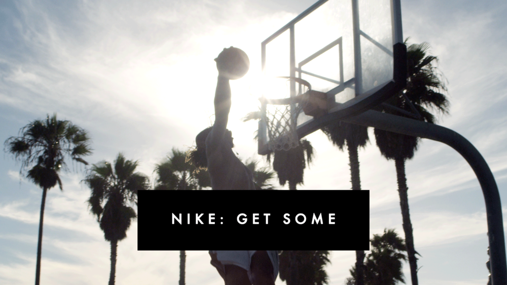 NIKE: GET SOME - COMMERCIAL, 2015 director/DP ALEX LARK featuring KWAME ALEXANDER produced by ALEX LARK & DEVIN GLASS