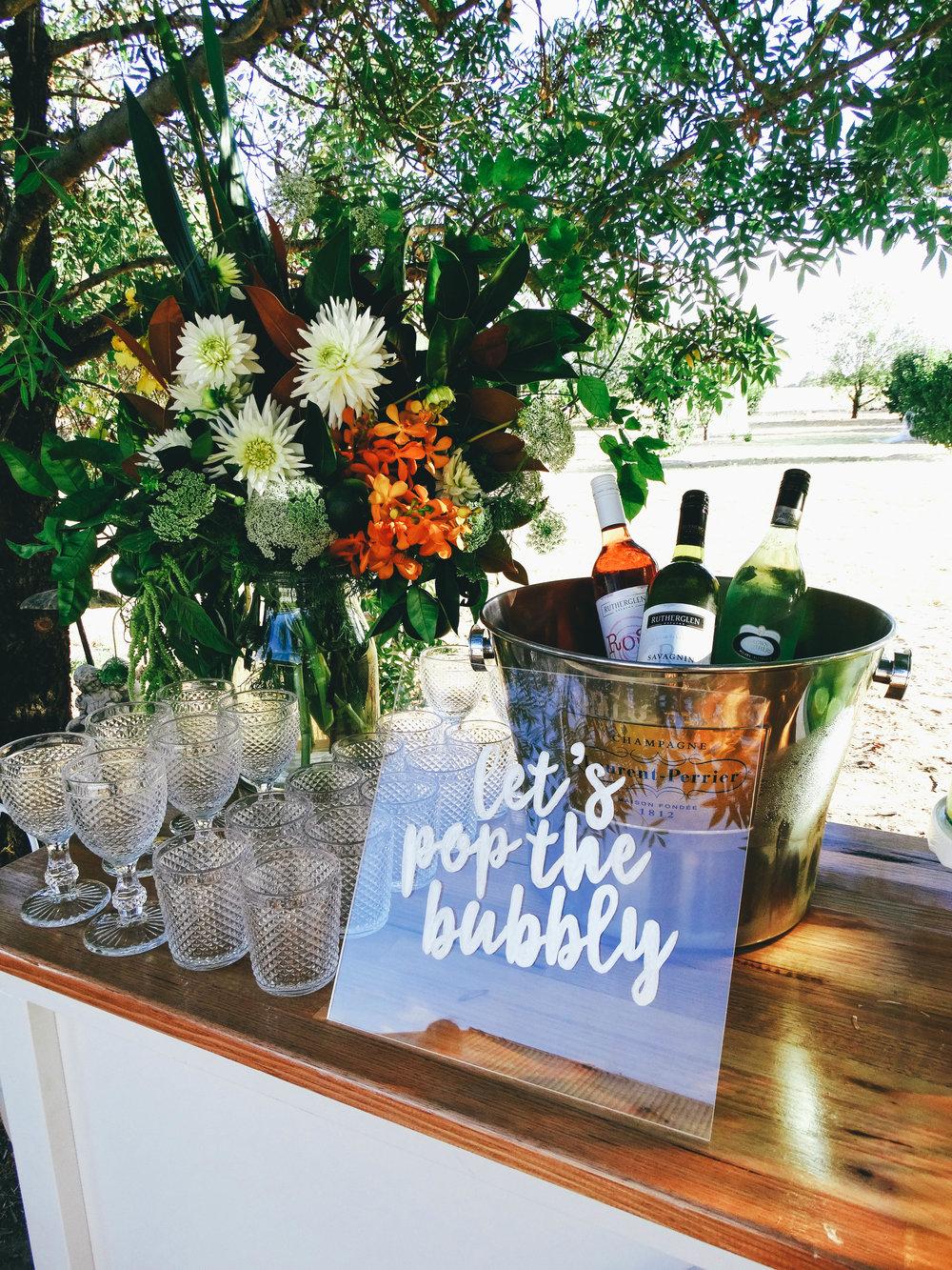 Albury wedding Stylist