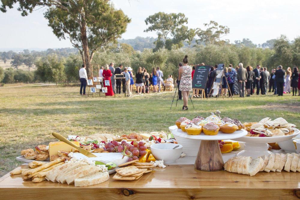 Wagga grazing table