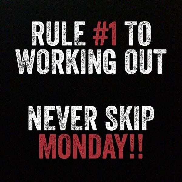Rules are easy to follow when they're easy to remember 🤔 👍💪👊 #motivationmonday #yougotthis #bodyworxtraining #personaltrainer #workout #instafitness #gymlife #fitness #trainhard #ldnont #getdtl #livingldnont #supportlocal