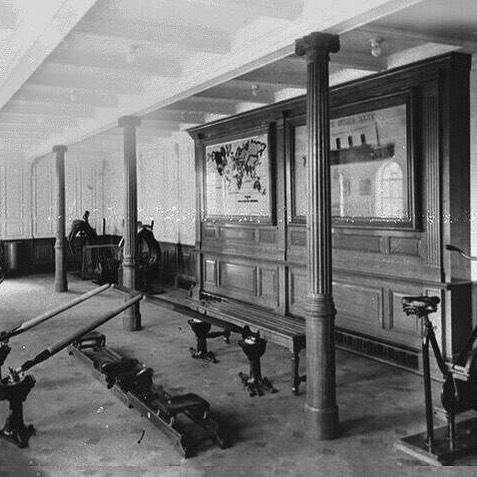 This was the gym on the Titanic 👍💪👊 #tbt #throwbackthursday #nostalgia #yougotthis #bodyworxtraining #personaltrainer #workout #instafitness #gymlife #fitness #trainhard #ldnont #getdtl #livingldnont #supportlocal #titanic
