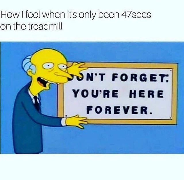 At least it's Friday!! 👍💪👊 #fridayfun #flexfriday #yougotthis #bodyworxtraining #personaltrainer #workout #instafitness #gymlife #fitness #ldnont #getdtl #livingldnont #supportlocal #thesimpsons #mrburns #cardio #treadmill