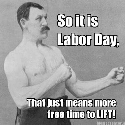 The gym is open for all your laboring today 👍💪👊 #motivationmonday #labourday #yougotthis #bodyworxtraining #personaltrainer #workout #instafitness #gymlife #fitness #trainhard #ldnont #getdtl #livingldnont #supportlocal