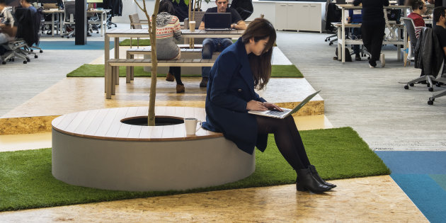 How Companies Are Making The Physical Workplace A Perk Of The Job - Article by Huffington Post
