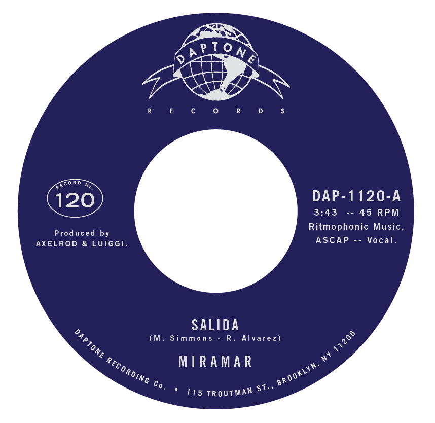 "Daptone Records 7"" 45rpm - Coming March 29, 2019https://shopdaptonerecords.com/products/salida-urgenciaSide A: SalidaSide B: Urgencia"