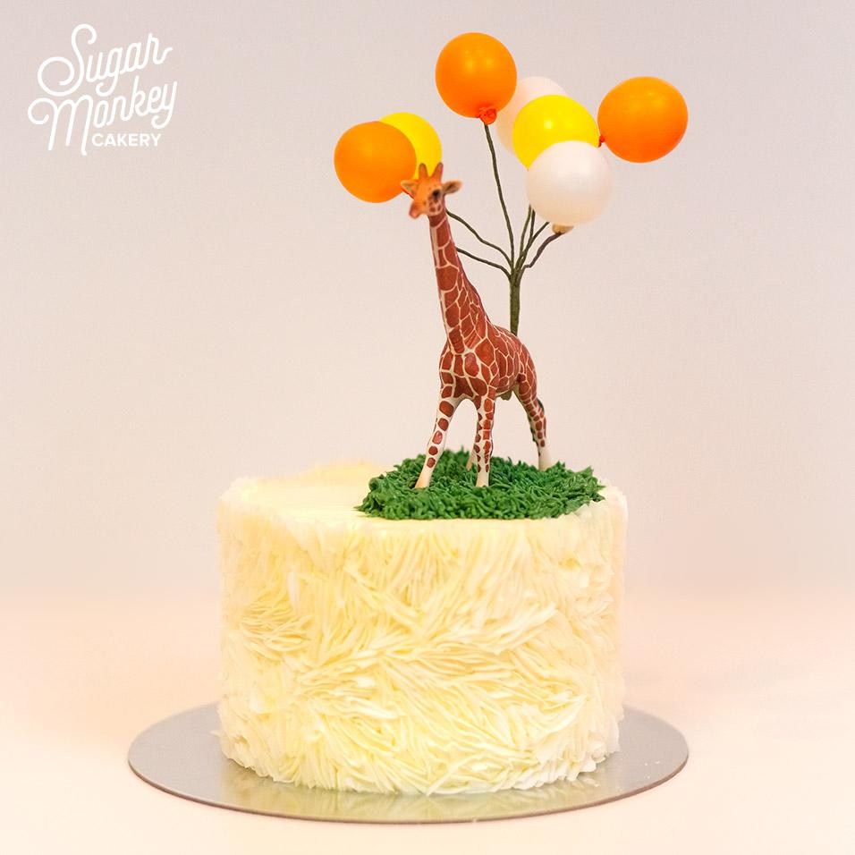 Coconut cake with coconut buttercrea