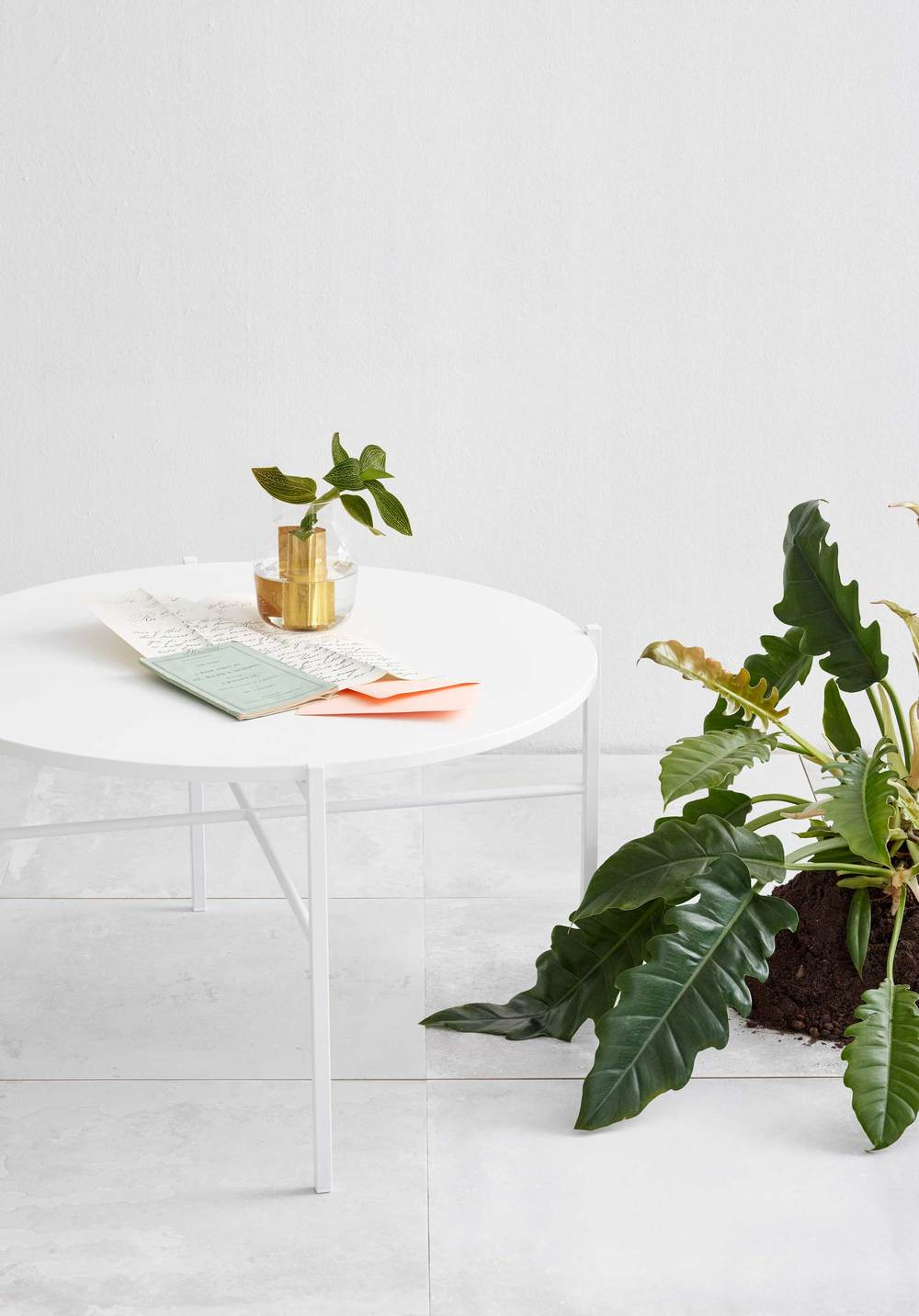 Round-table designed for the Finnish furniture company Hakola together with lovely partner-in-crime Ines Wartiainen