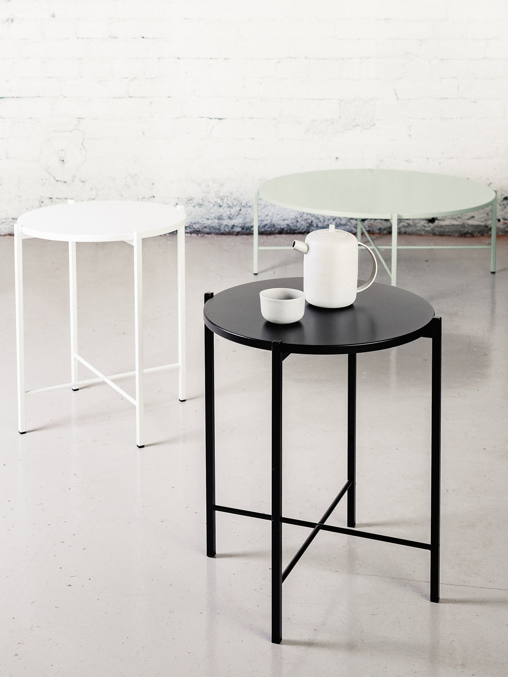 New colours out! White, black and Jade available in three sizes. Photography by Aleksi Tikkala