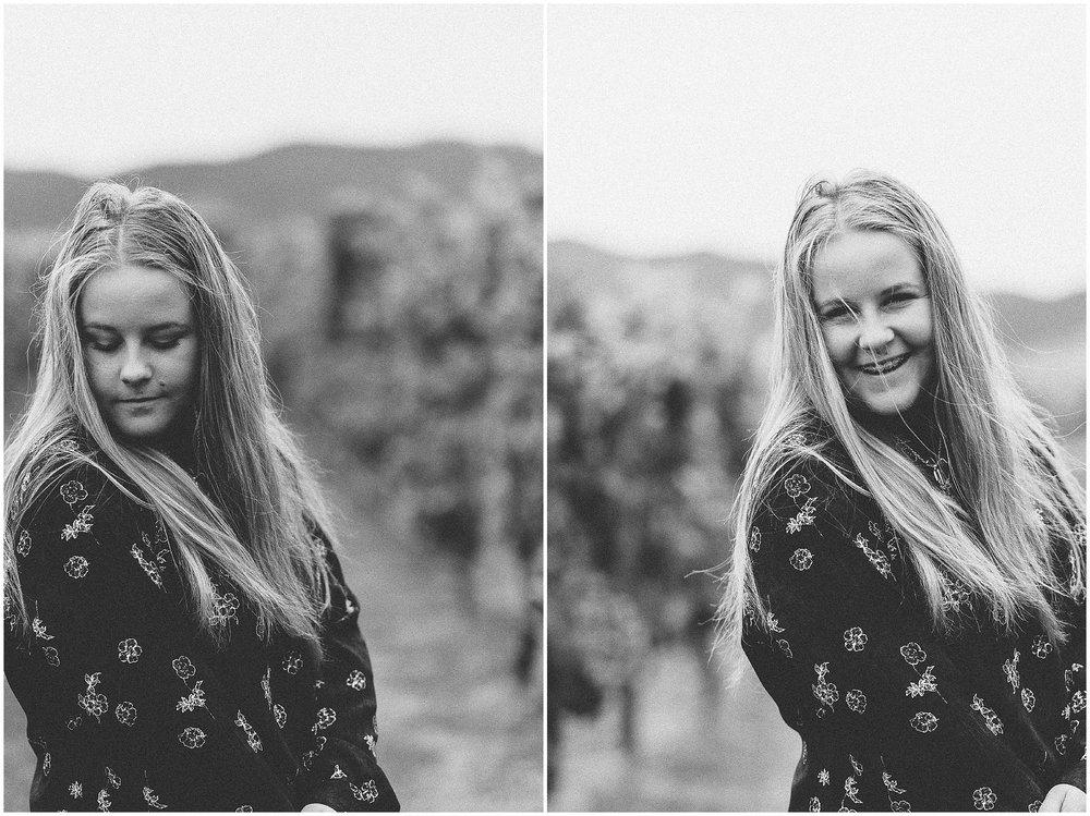 Allan Scott Winery Portrait Girl Photo