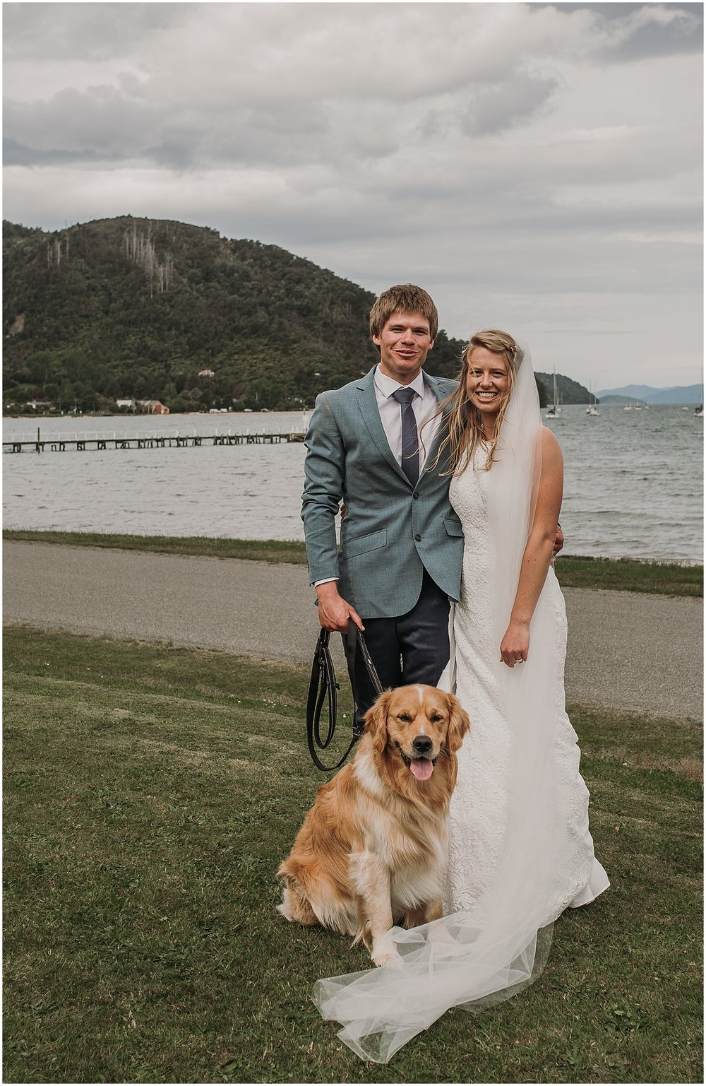 Hannah + Scott plus Darcy | Carmen Peter Photography