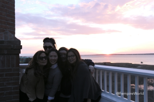 femgroup sunset.JPG