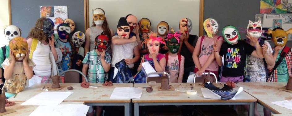 Schoolhouse for Art Summer Camp 2016