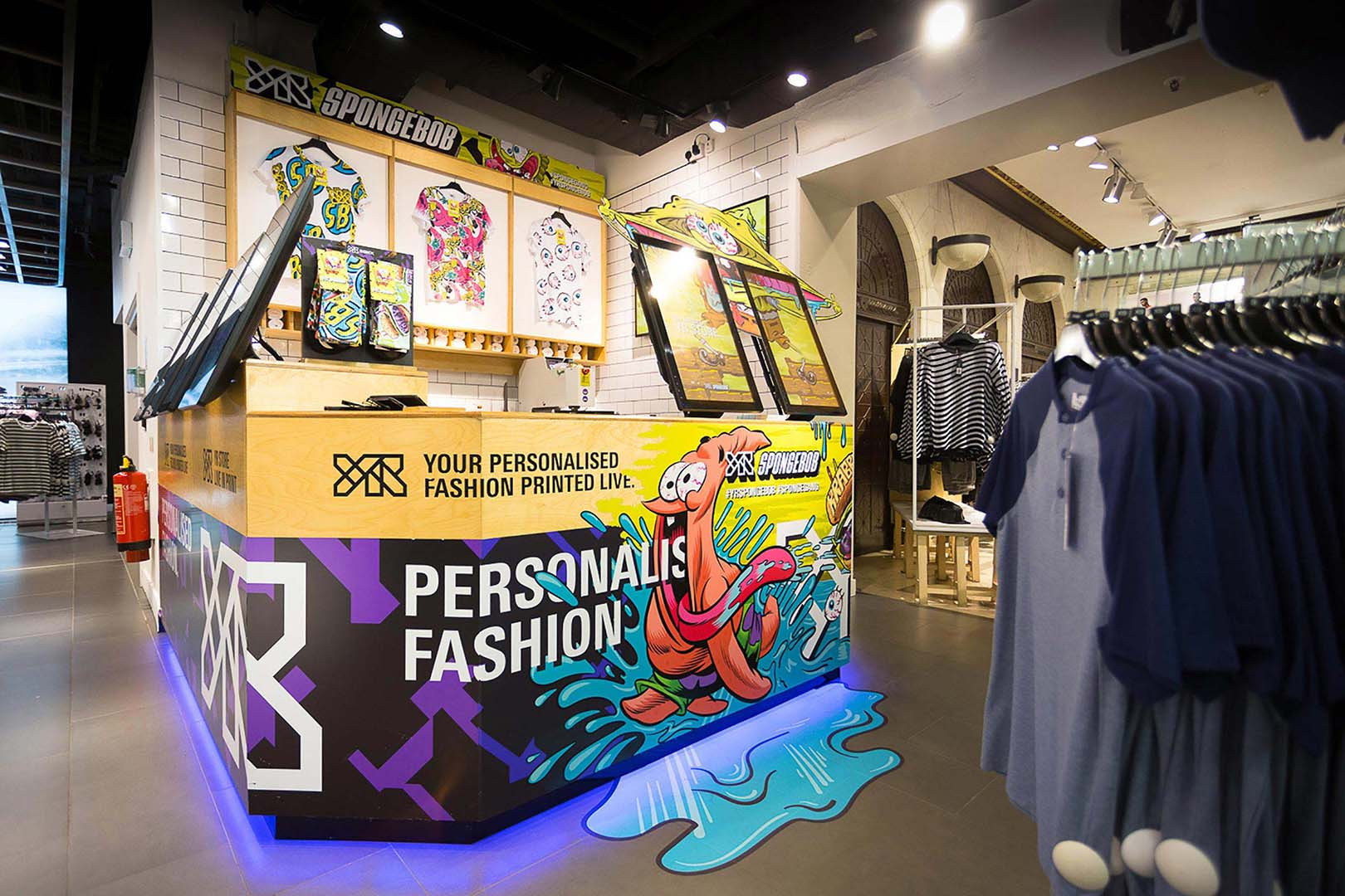 YrStore x Topman Spongebob SquarePants Clothing