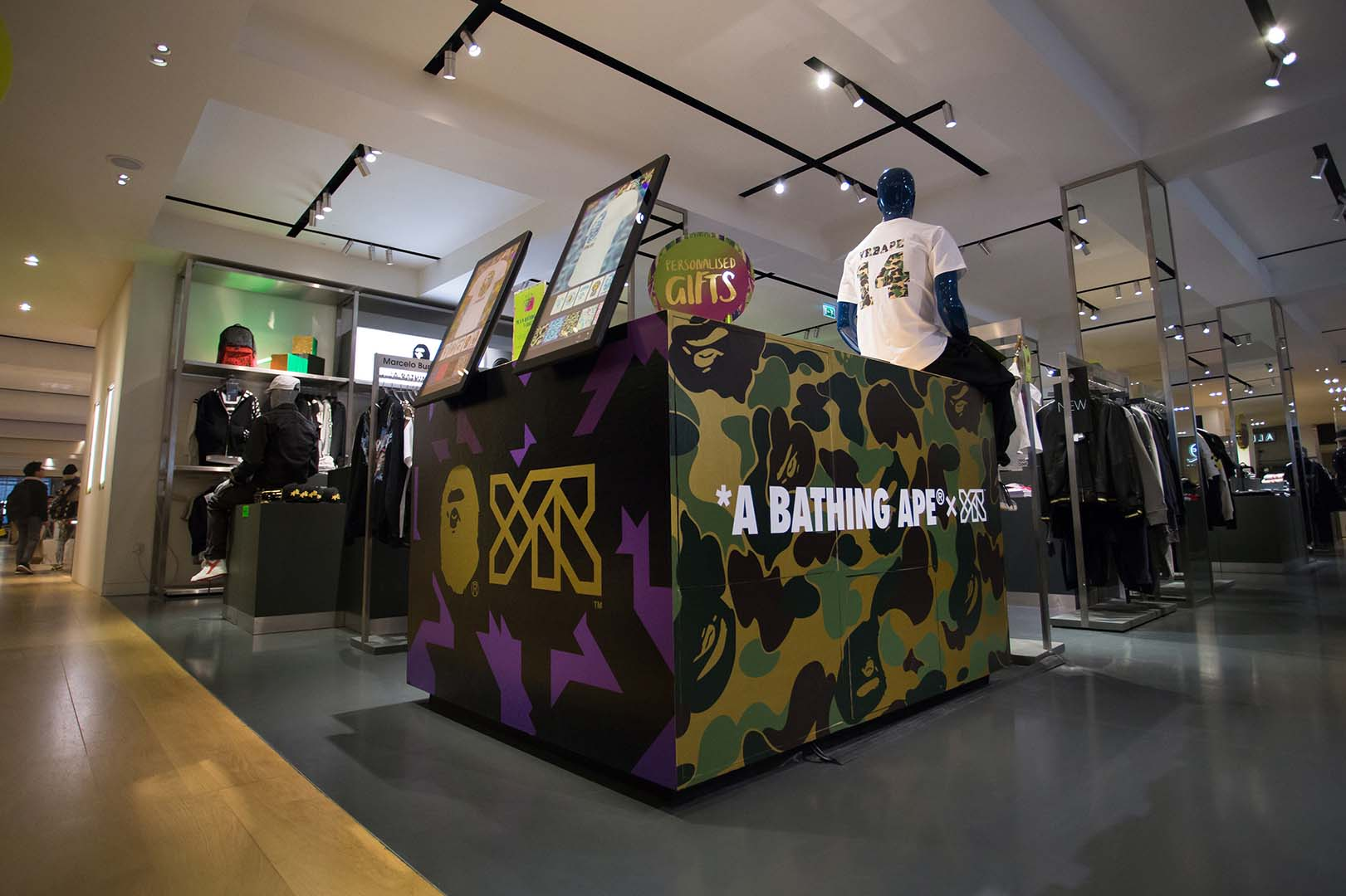 YR Store x A Bathing Ape x Selfridges